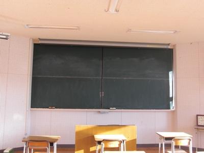 黒板の改修