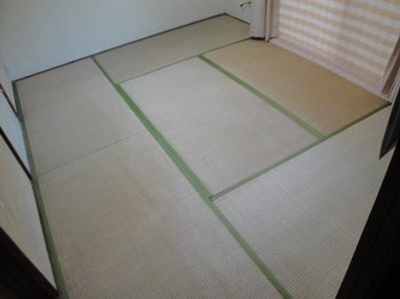 畳表替えと下地の補強