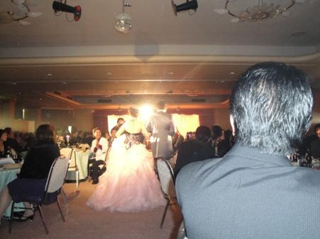 今年 最初の結婚式でした