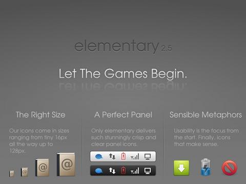 elementary Icons Ubuntu アイコンテーマ