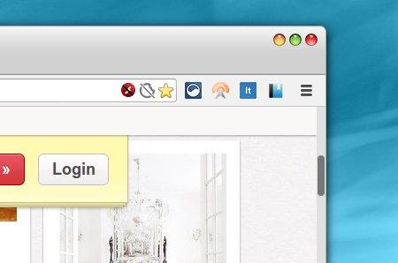 Lubuntu Scrollbars Chrome拡張 スクロールバー マウスオーバー