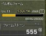ファームストーン 555個 Lv11