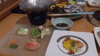 石花海の料理