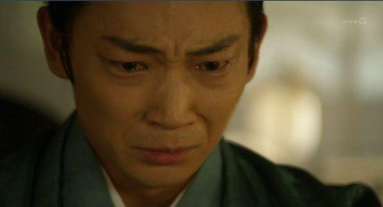 八重815 お上の会津への思いを知り泣き崩れる容保