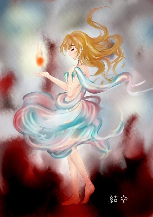 「炎の少女」